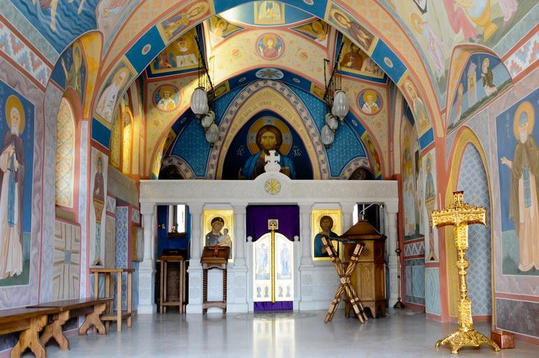 Лестница спасения человеческой души. Фотографии Зверинецкого пещерного монастыря. 7
