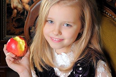 Еще один фото портрет ребенка. Из фотосессии для всей семьи. 2