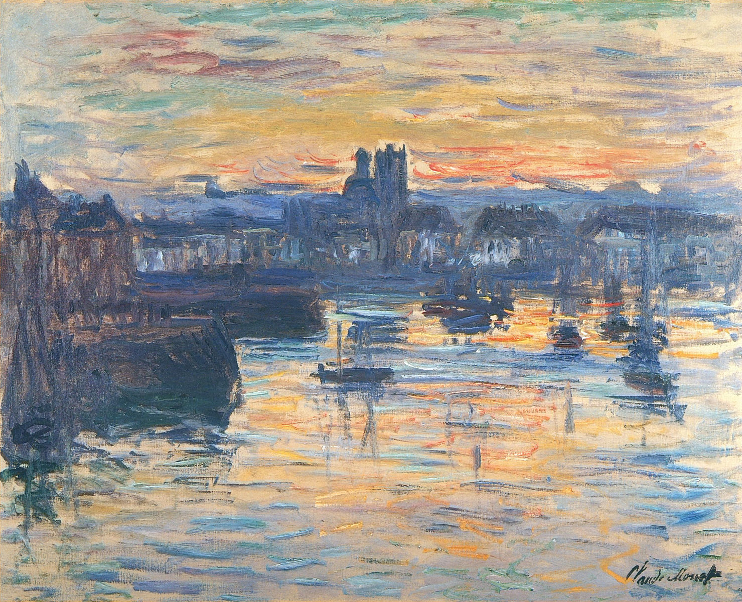 the origin and history of impressionism Impressionism can be considered the first distinctly modern movement in painting developing in paris in the 1860s, its influence spread throughout europe and eventually the united states.