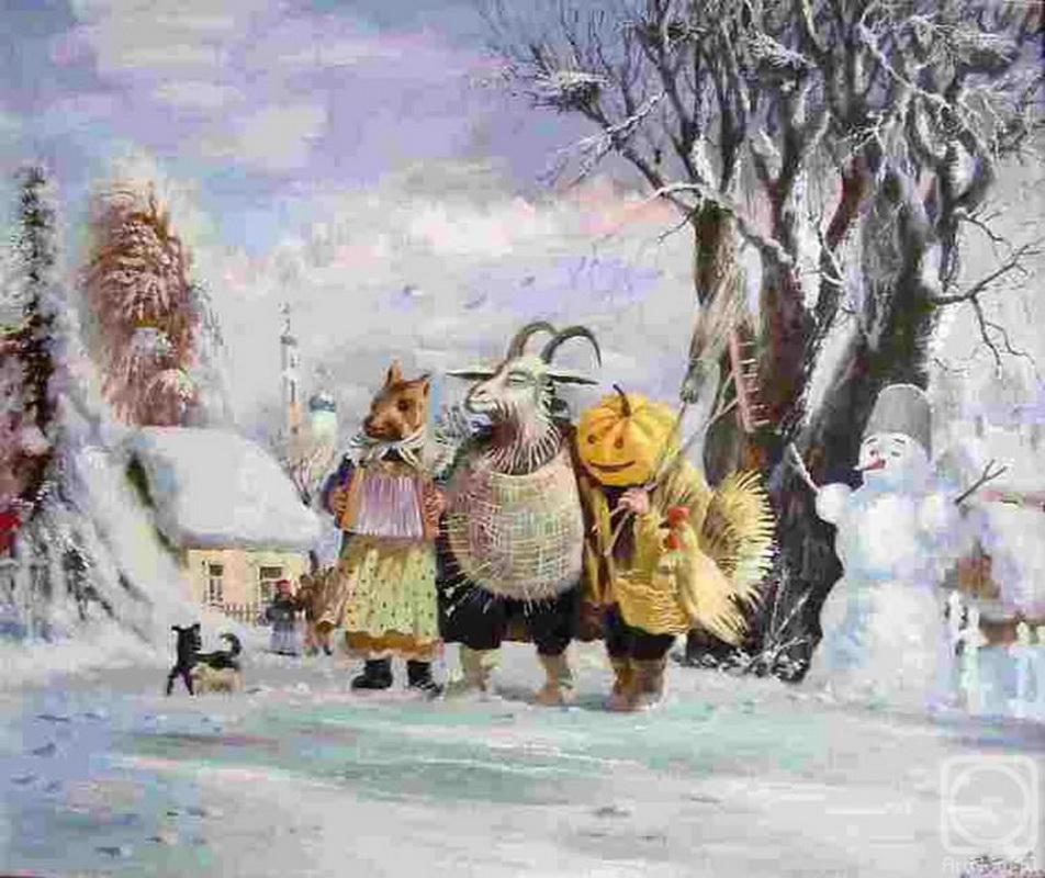 много картинка славянское рождество нас принято красную