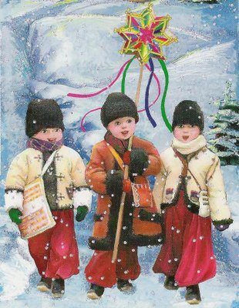 Колядка для детей на старый новый год