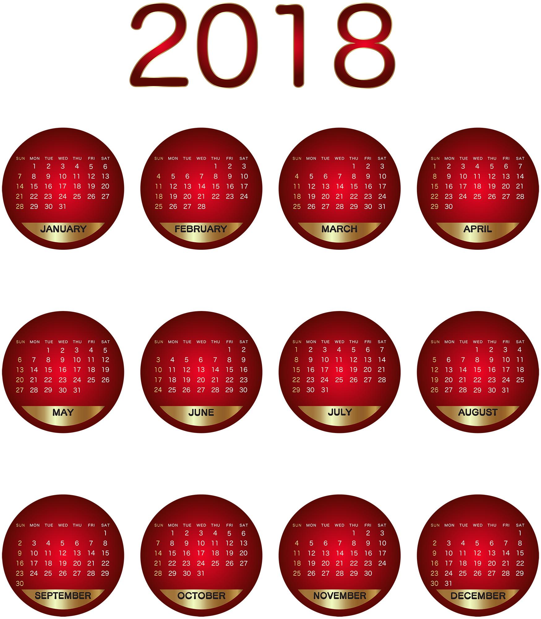 2018_Calendar_areacreativ_PNG_Image22
